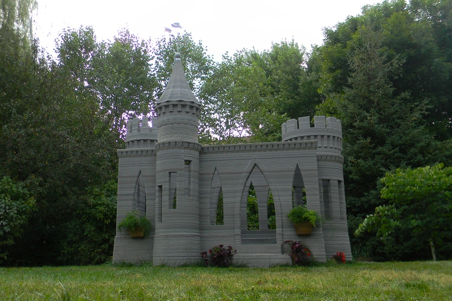 One Man's Ambitious Project: A 3D Printed Castle