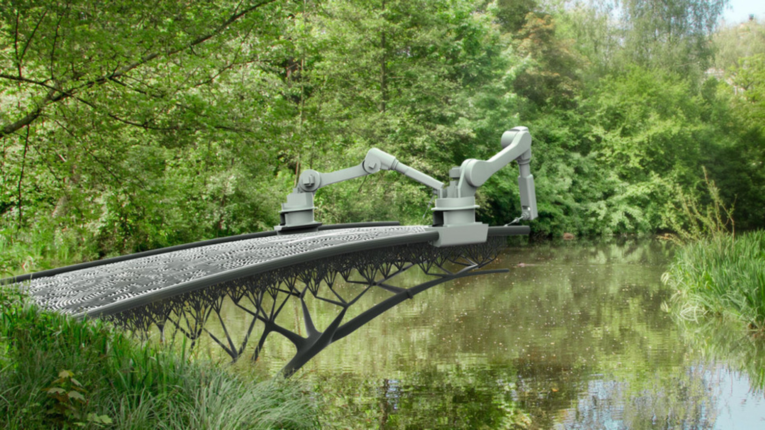 The First 3D Printed Bridge!