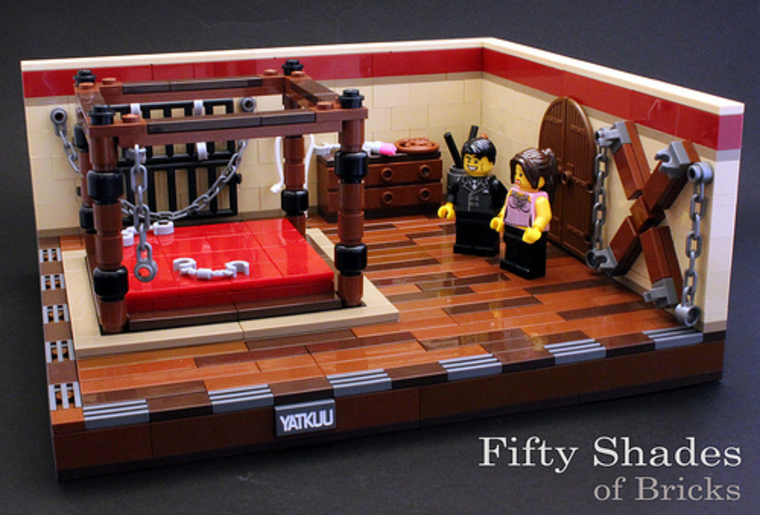 Fifty Shades Of Bricks: The Best Lego Parody Ever