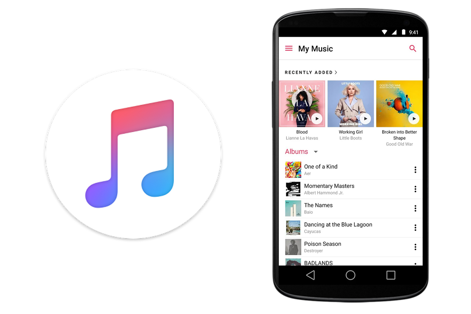 can you have apple music on android