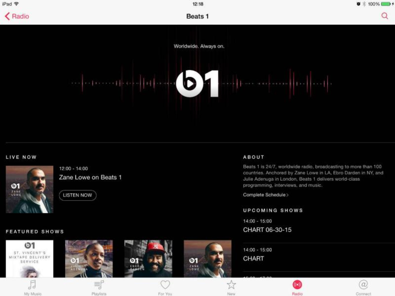 The Illegal Streaming Of Apple Music Has Begun