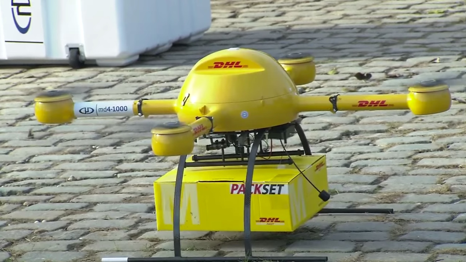 DHL Beats Amazon To Drone Delivery