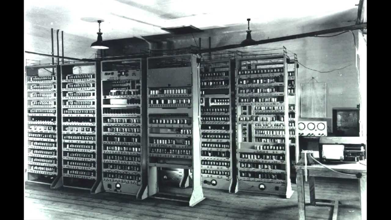 Indiana Jones And The Lost… Edsac Computer