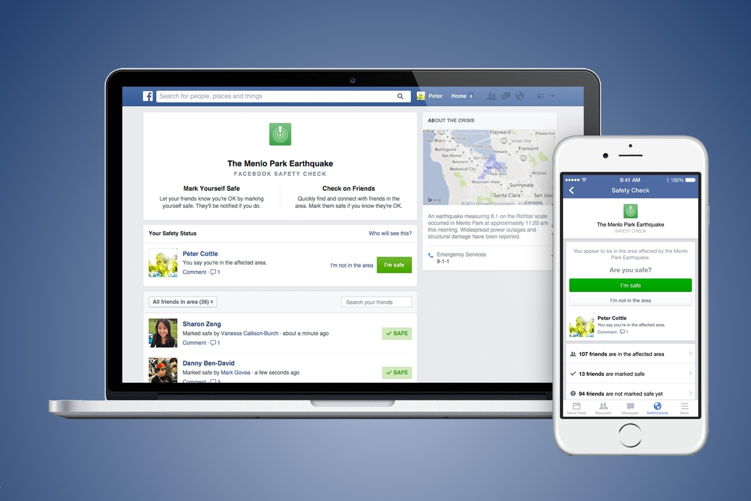 Survived A Disaster? Facebook Wants You To Tell Everyone!