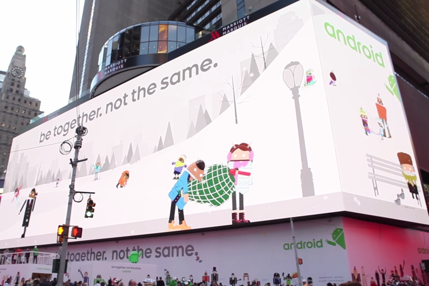 Watch Google's Giant Interactive Ad In Action