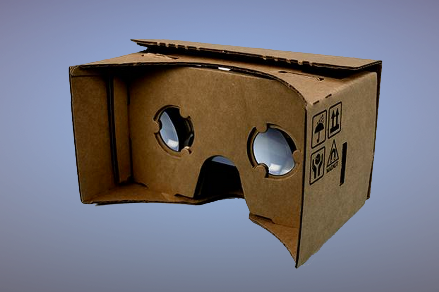 Google's Cardboard VR Headset is Out of the Box