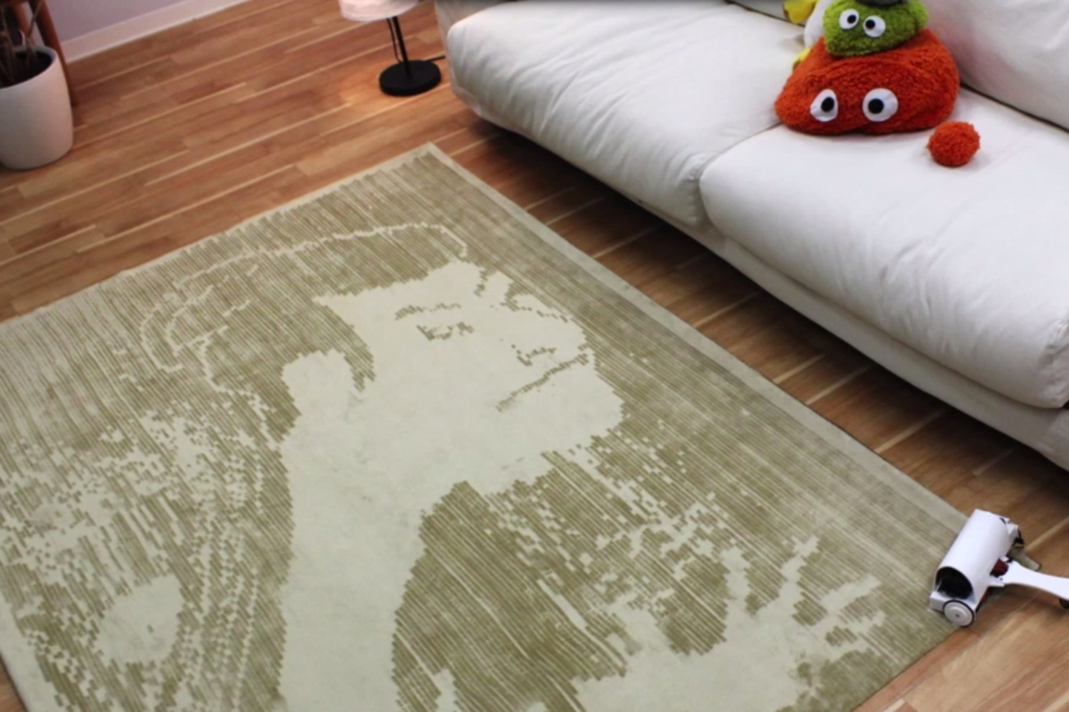Turn Your Carpet Into A Work Of Art