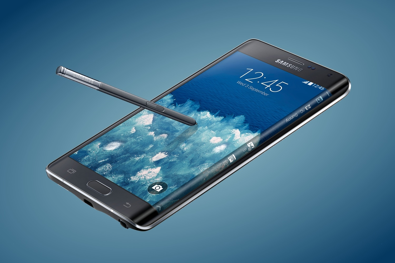 Samsung Gets Edgy: Introducing the Galaxy Note Edge