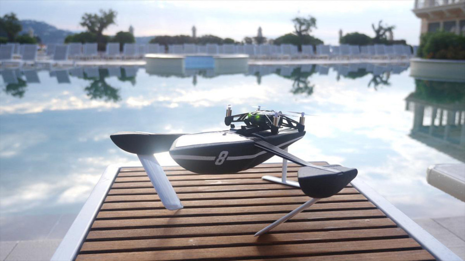 Drones That Can Surf And Fly In The Night