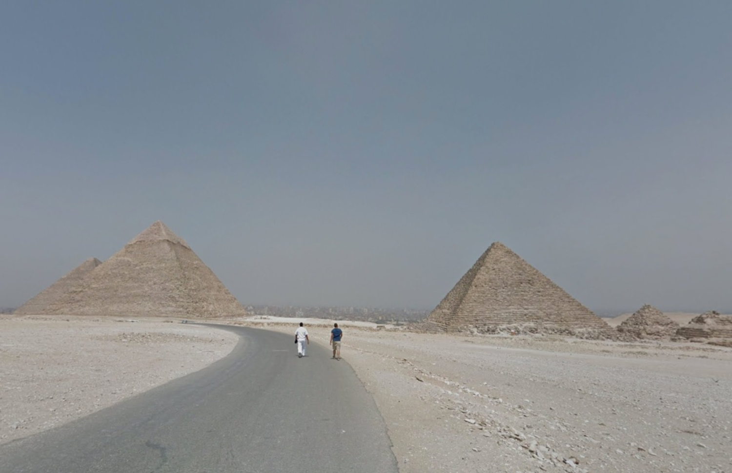 Too Dangerous to Visit the Pyramids? Use Street View!