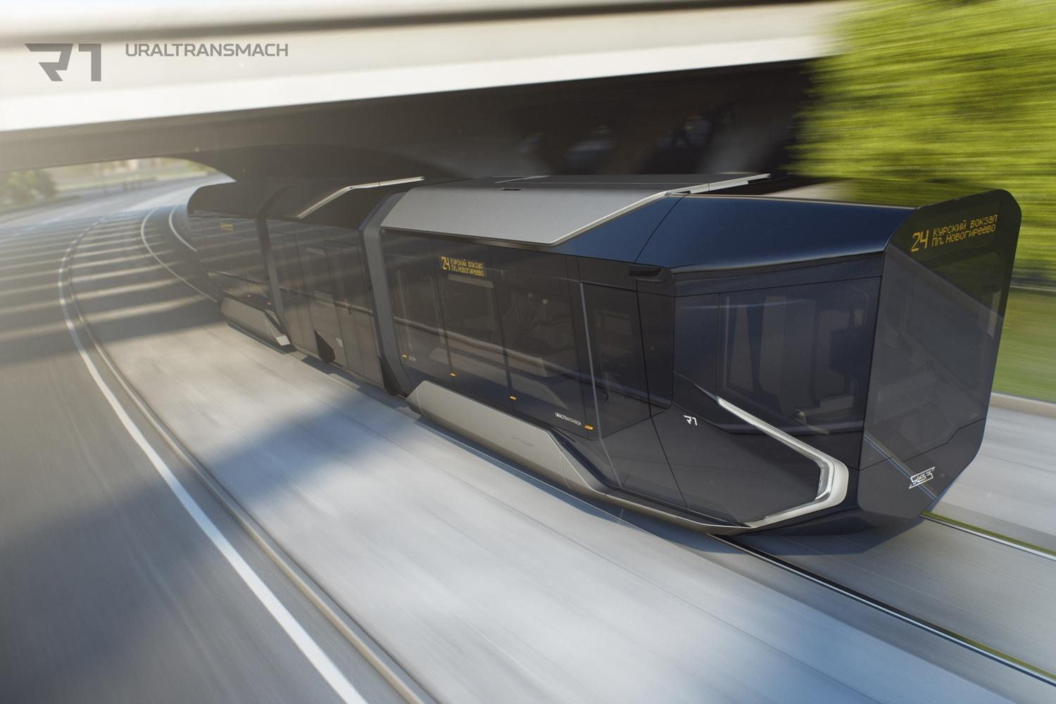 Check Out The Russian 'BatTrain' Of The Future
