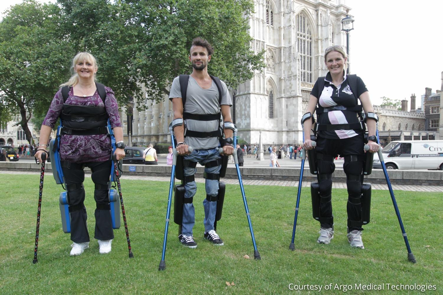 An Exoskeleton that allows Paraplegics to Walk Again