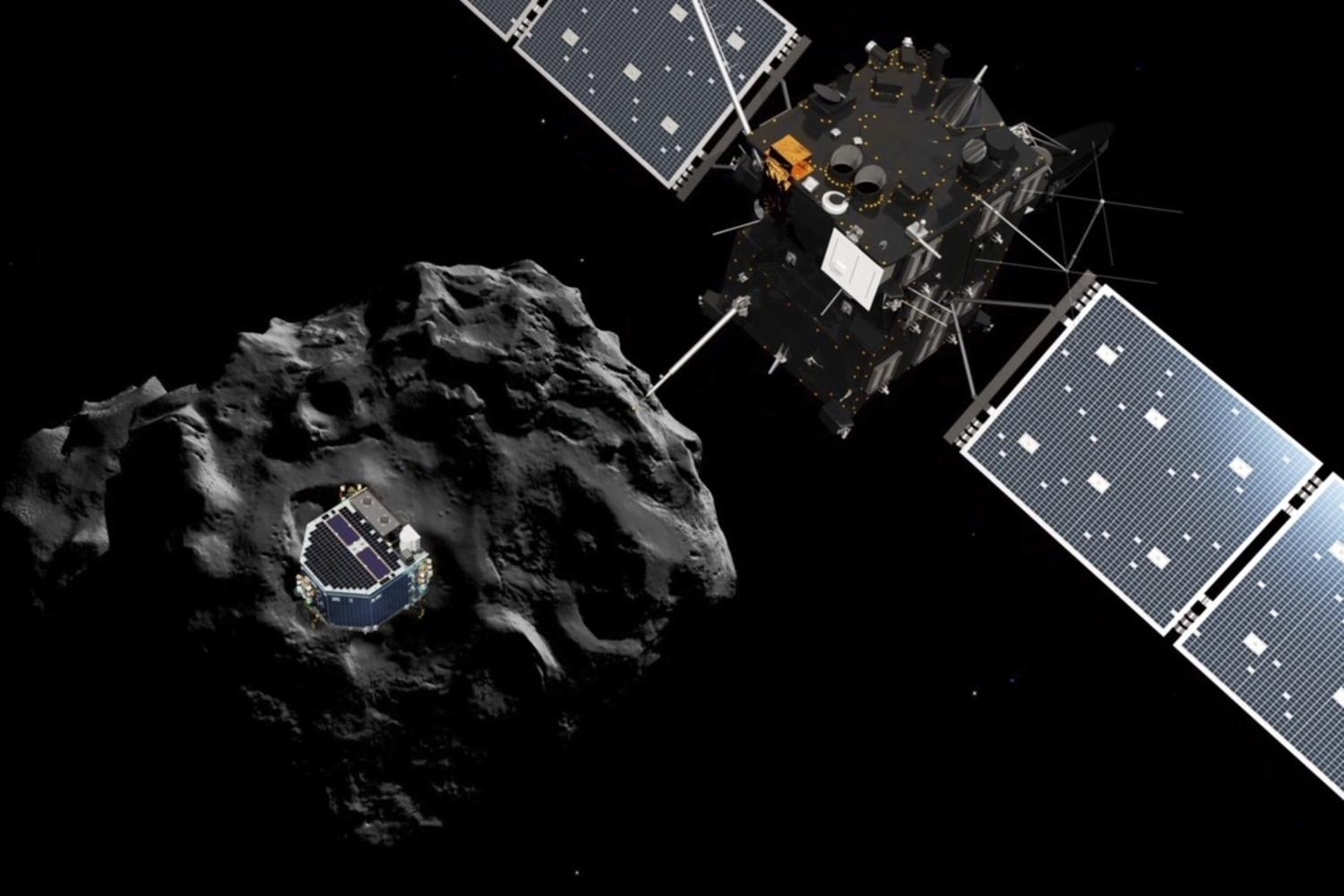 The Crazy Plan To Land On A Comet