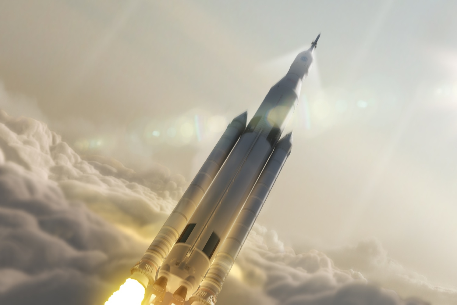 NASA's Largest Rocket Ever Is Launching Soon(ish)