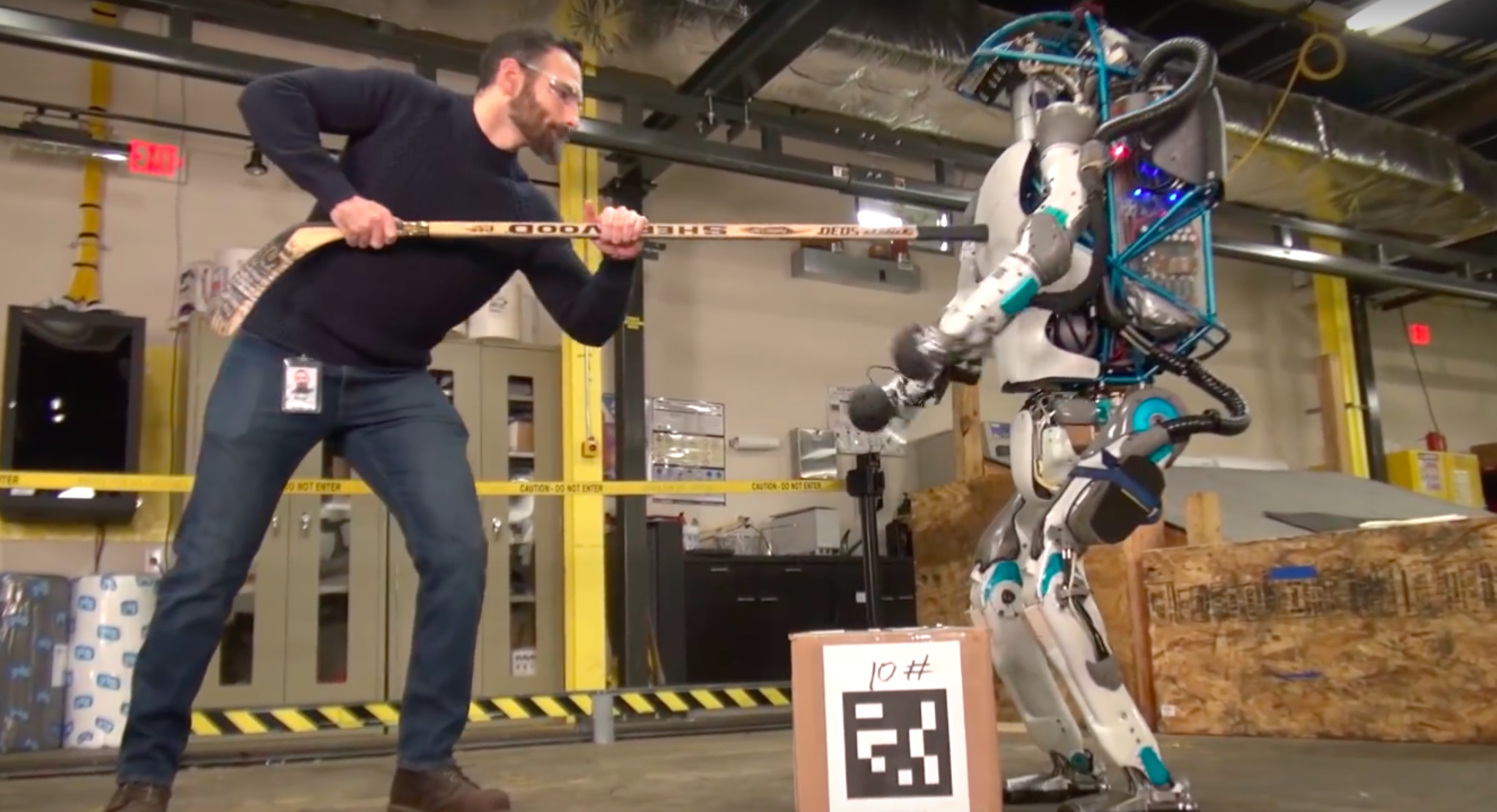 Cruel Human Bullies Poor Helpless Robot Again
