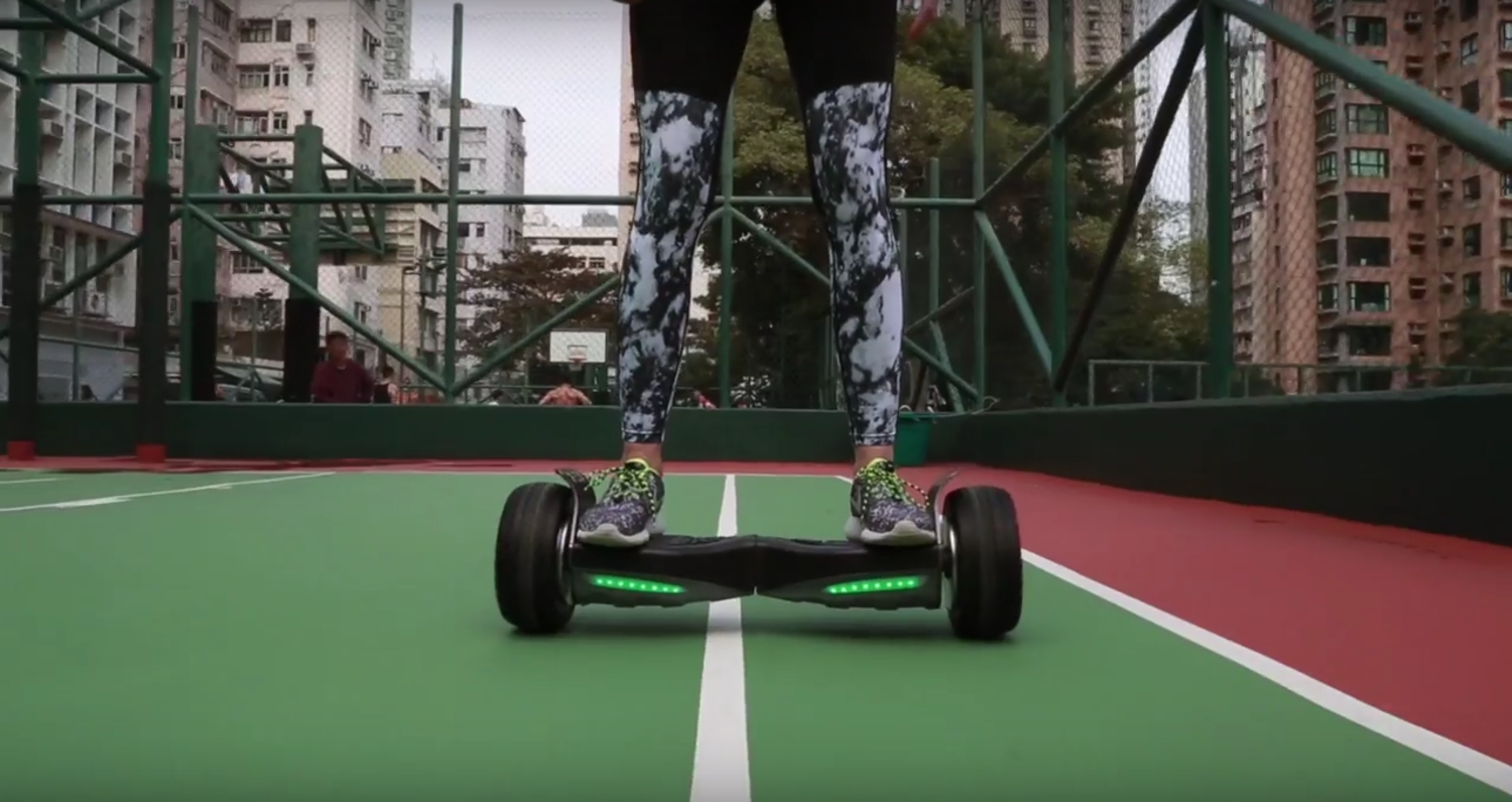 Samsung-Powered Hoverboard Won't Blow Your Kids Up