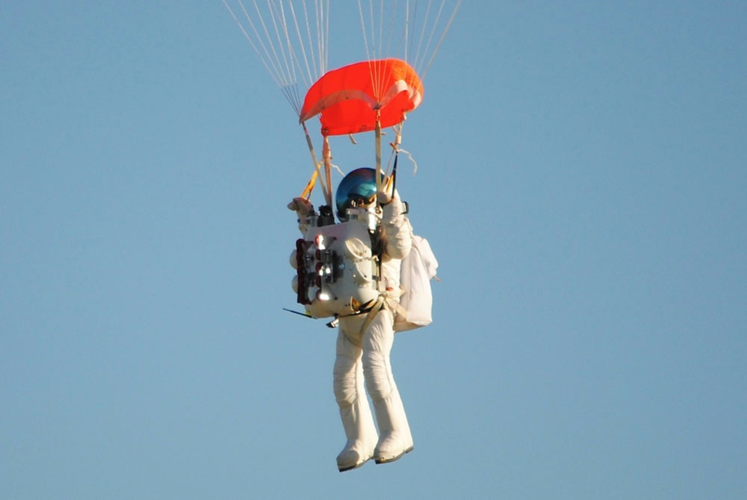 Watch Google's VP Skydive From The Edge Of Space
