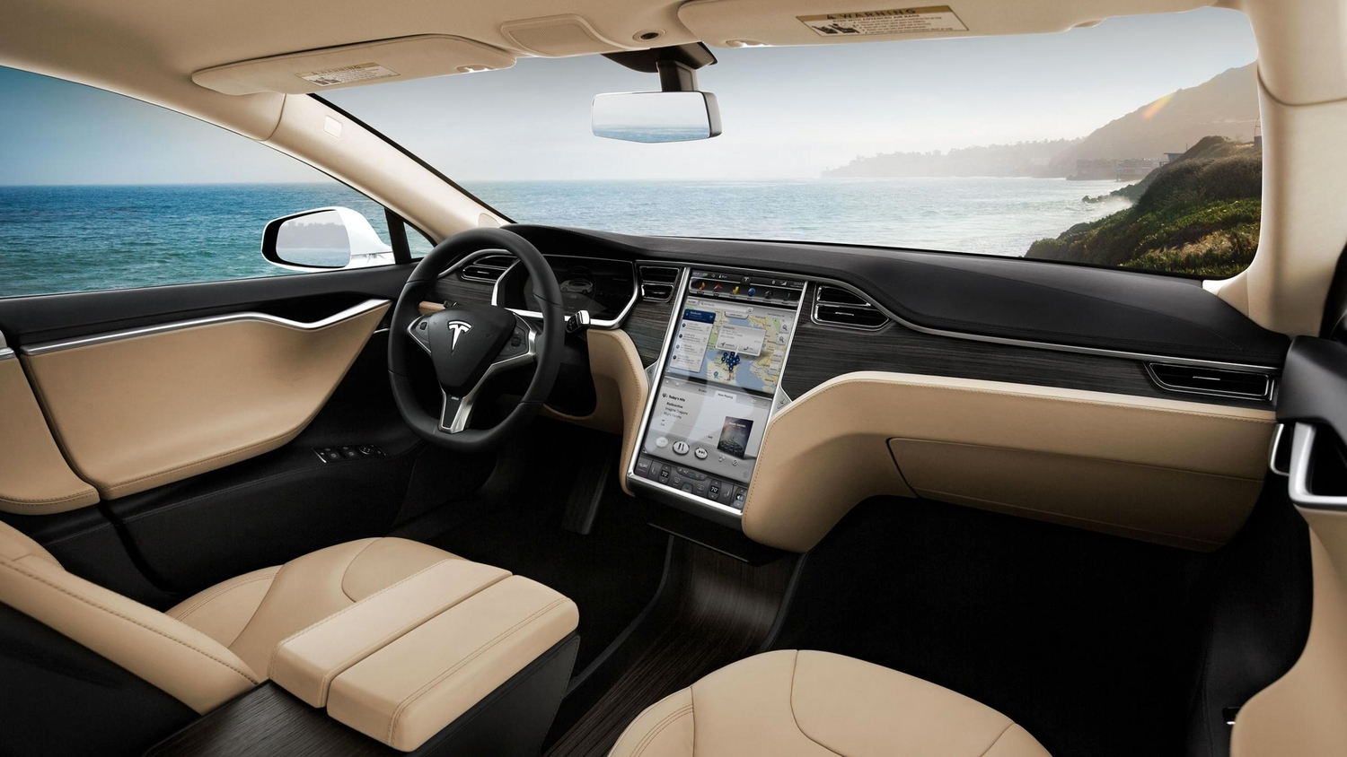 Get Behind The Wheel Of A Tesla On Autopilot