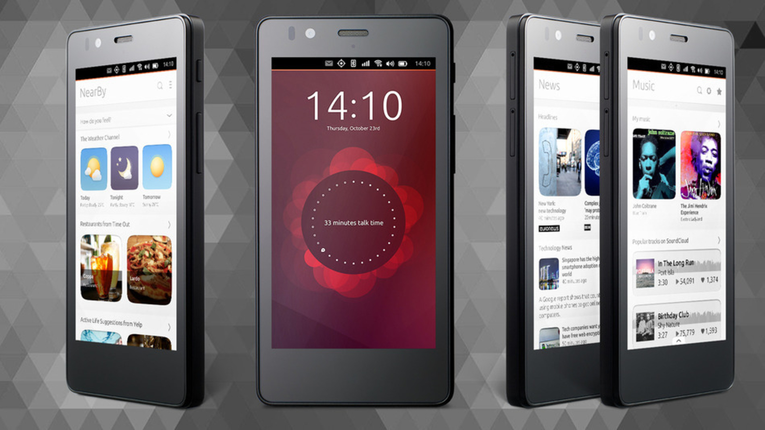 The First Ever Ubuntu Phone