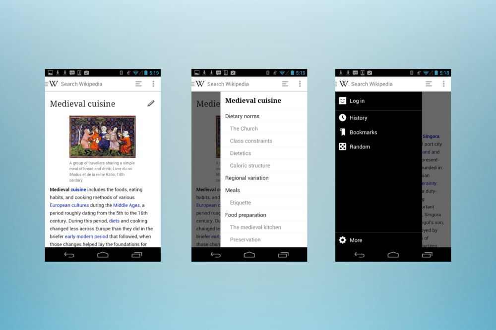 Wikipedia Speeds Up On Android