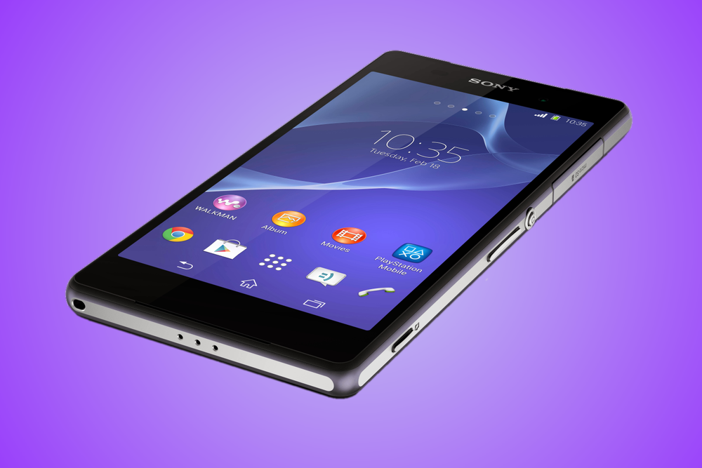 The Xperia Z2 is a Gorgeous Giant