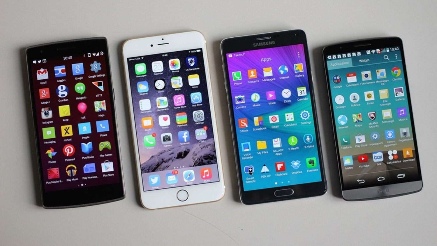 The Top 5 Phablets Right Now