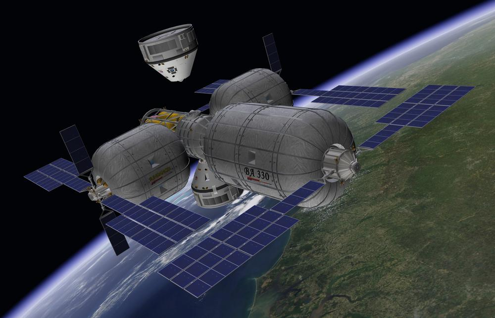 The First Space Hotel Could Be A Jumping Castle