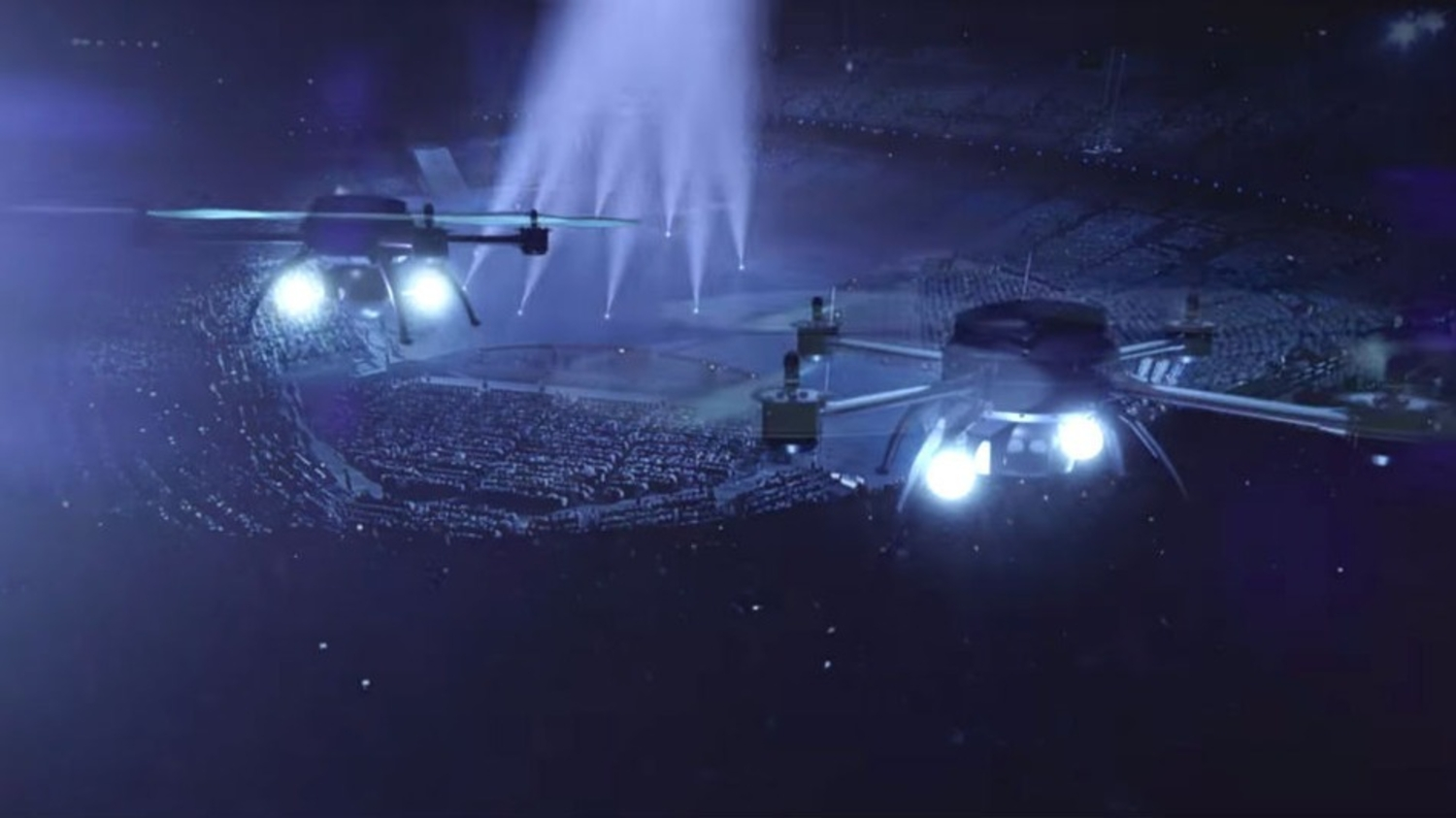 The World's First Drone Show