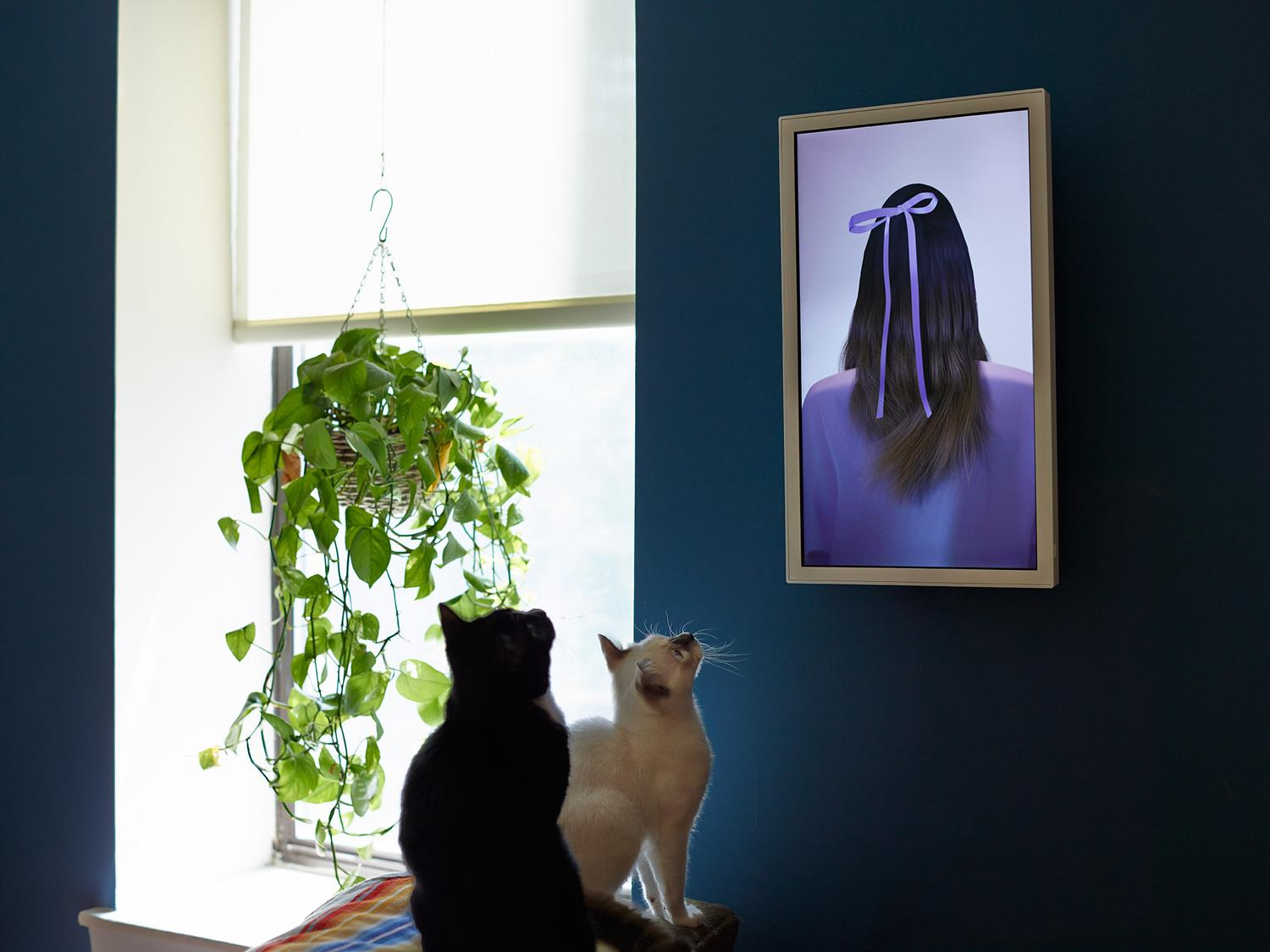 Would You Replace Your Paintings With An Electronic Canvas?
