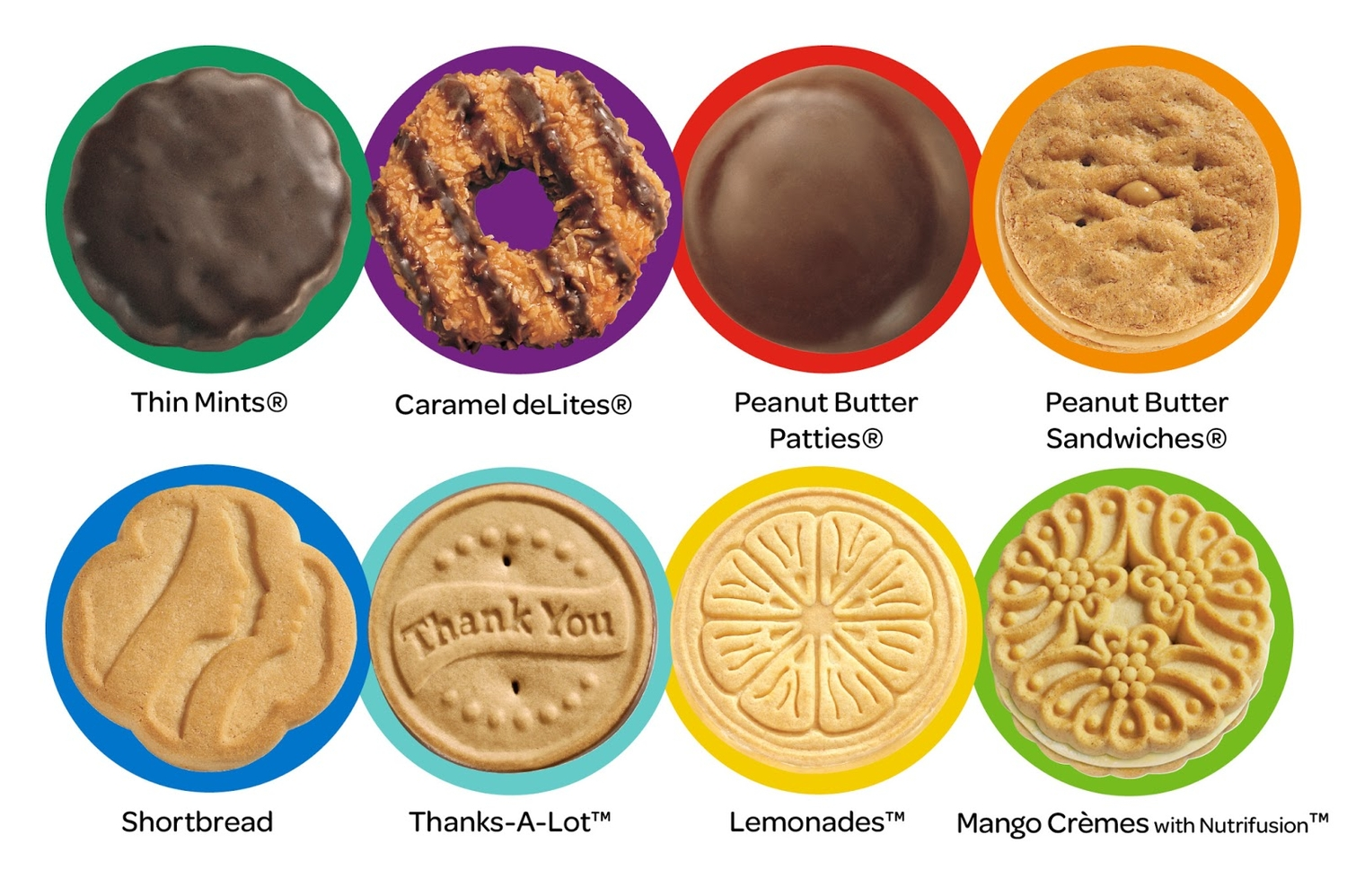 Rejoice! Girl Scout Cookies Available Online