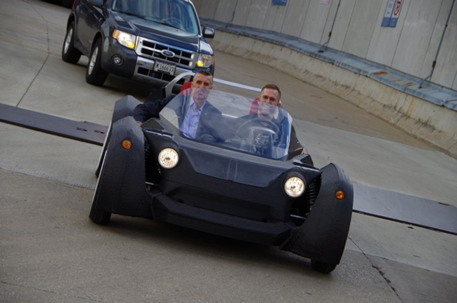 World's First 3D Printed Car Took Years To Design But Just 44 Hours To Print