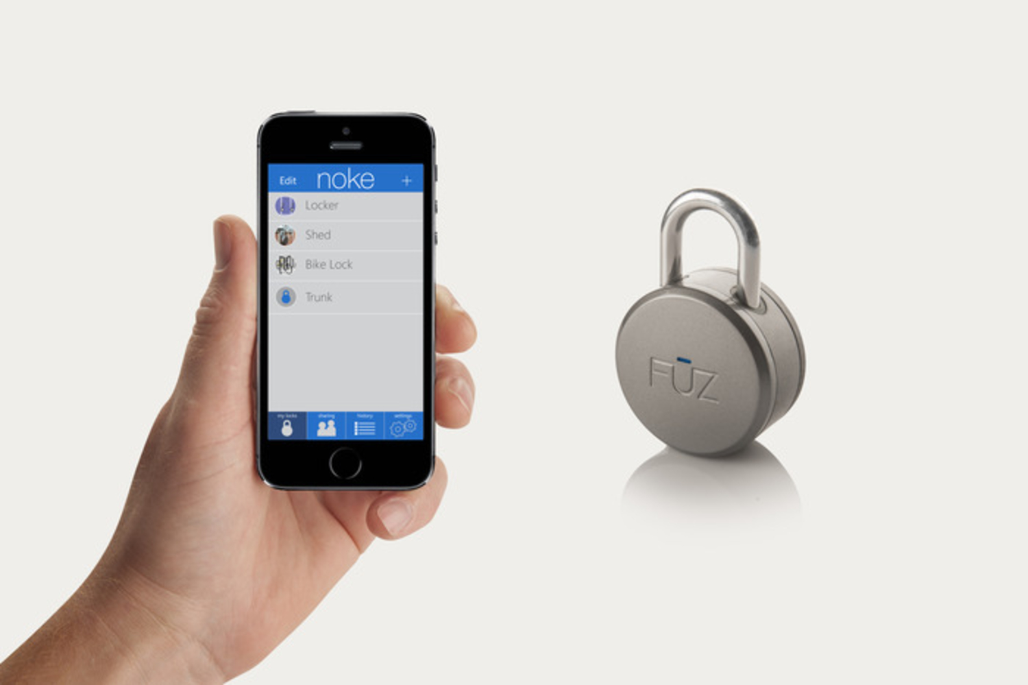 The World's First Bluetooth Lock