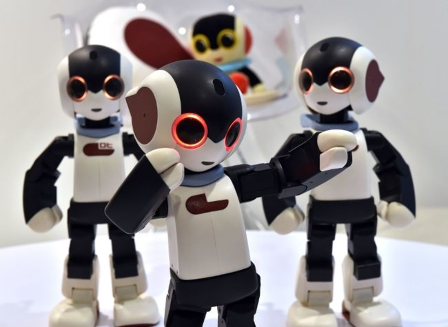 Watch These Little Humanoid Robots Dance
