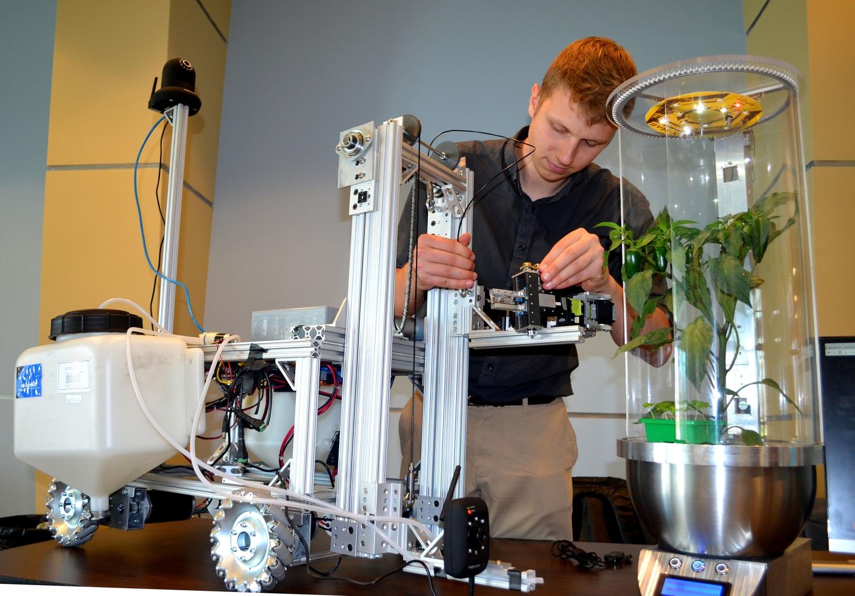Intergalactic Plant Robots