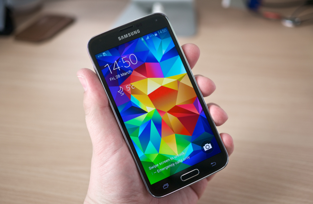 Samsung Shows Off Super-Spec S5