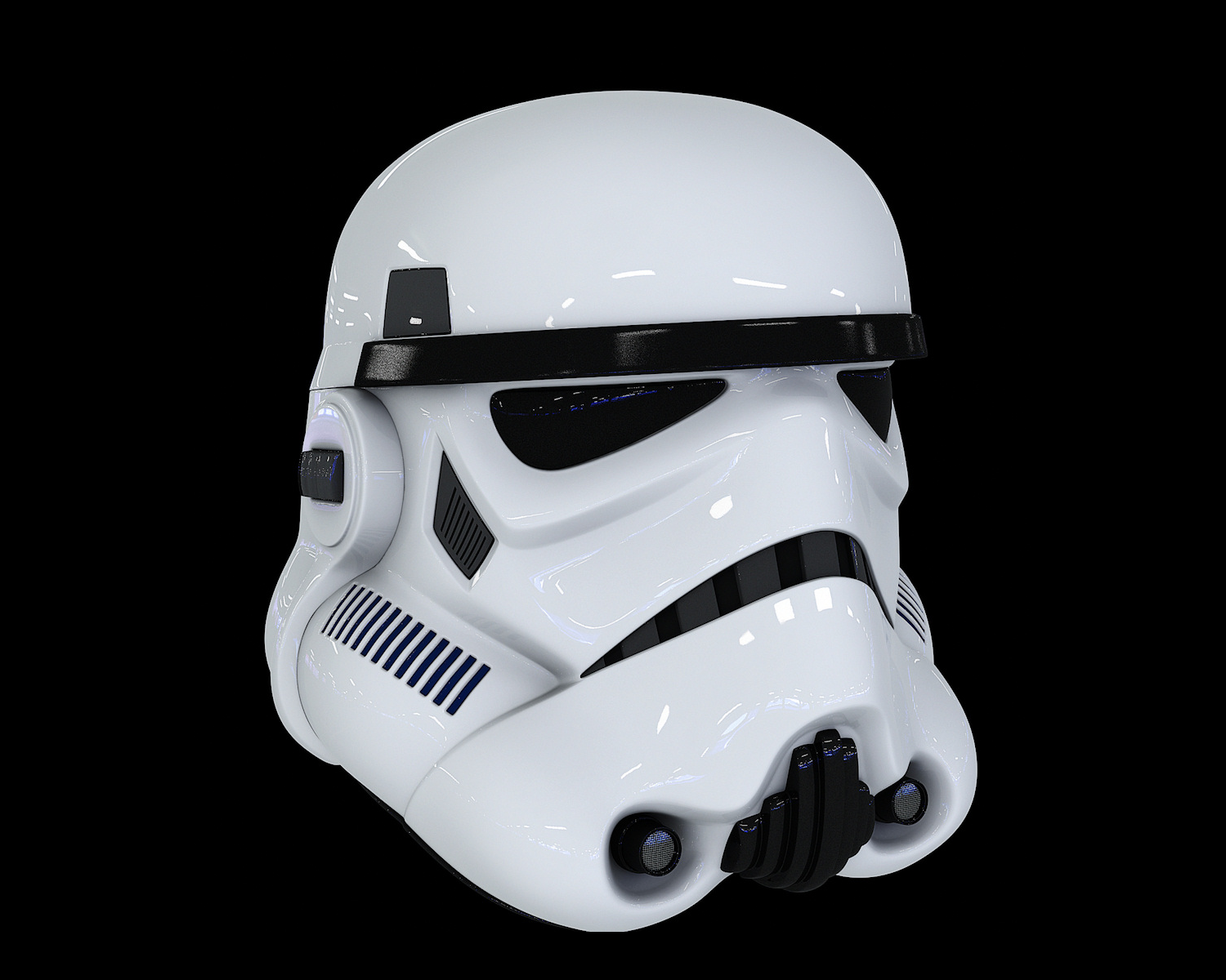 A Stormtrooper That Blasts... Music?
