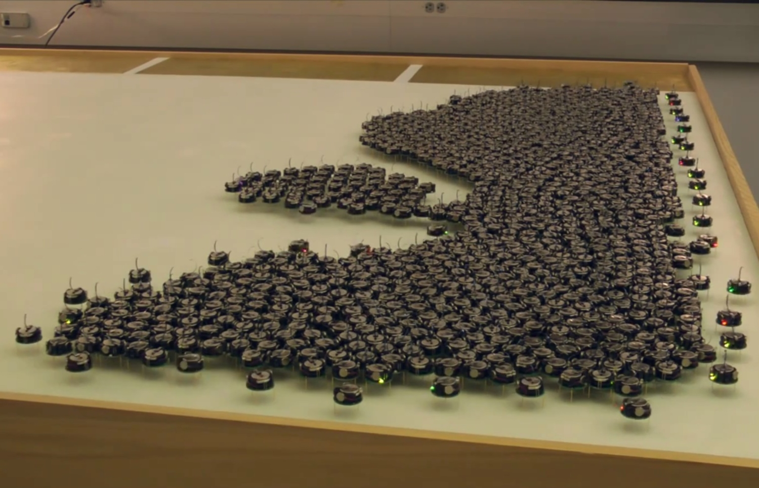 Ever Wondered What A Swarm Of Robots Looks Like?