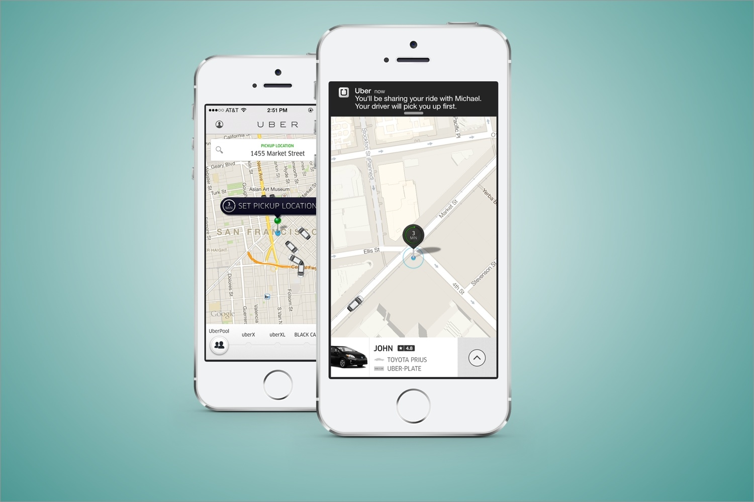 Uber Now Let's You Share Your Ride (And Taxi Fare) With A Stranger