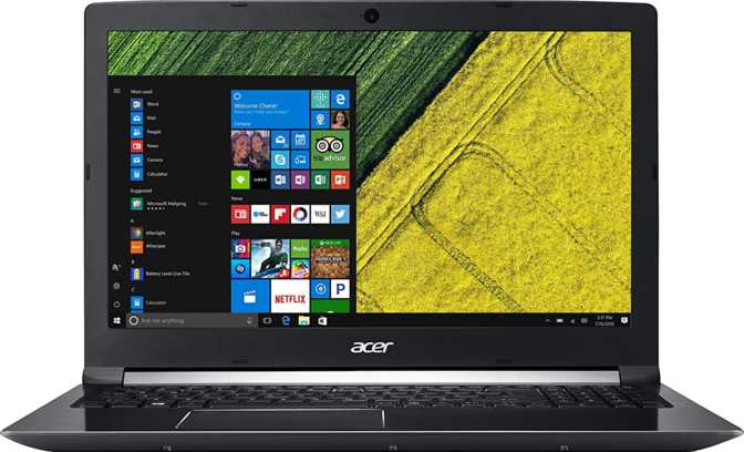"Acer Aspire 7 15.6"" Intel Core i7-7700HQ 2.8GHz / 8GB / 1TB"