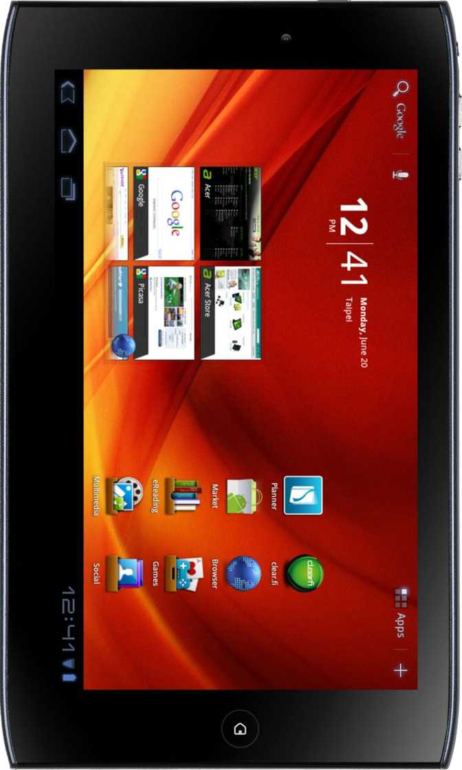 Acer Iconia Tab A100 8GB