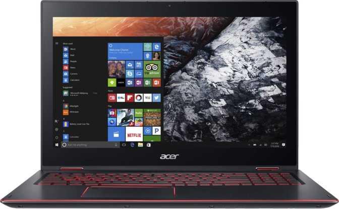 "Acer Nitro 5 Spin 15.6"" Intel Core i7-8550U / 1.8GHz / 8GB / 512GB SSD"