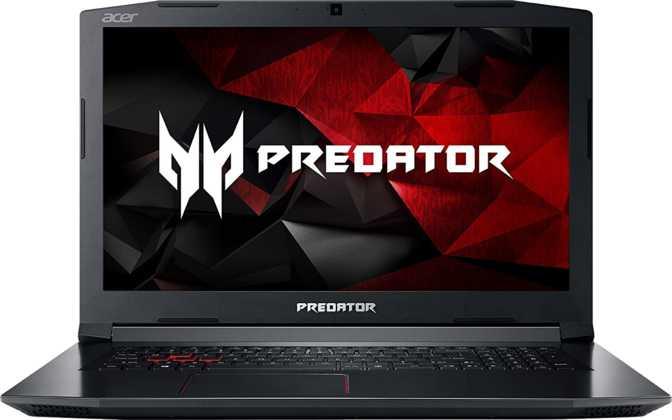 """Acer Predator Helios 300 15.6"""" Intel Core i7-7700HQ 2.8GHz / 16GB / 256GB SSD"""