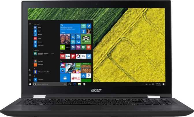 "Acer Spin 3 15.6"" Intel Core i5-7200U 2.5GHz / 12GB / 1TB HDD"