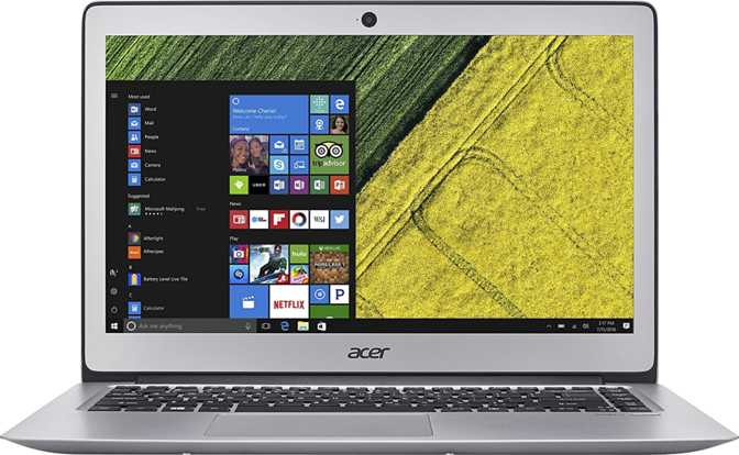"Acer Swift 3 14"" Intel Core i5-6200U 2.3GHz / 8GB / 512GB"