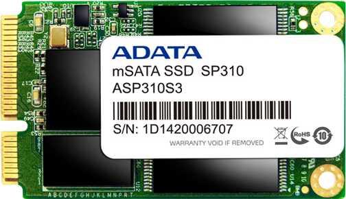 Adata SP310 mSATA SSD 64GB