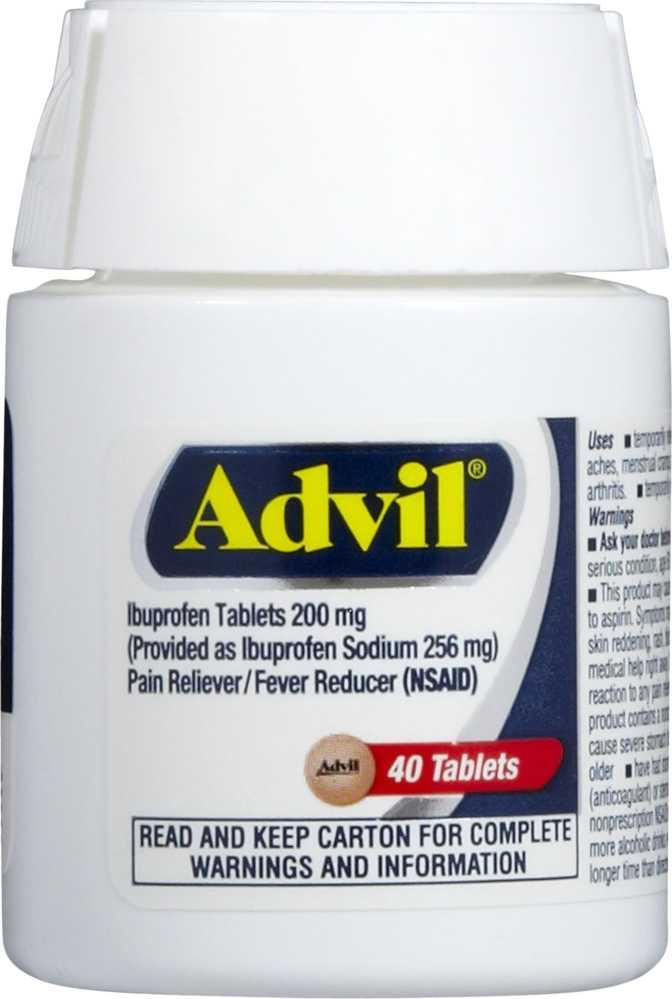 Advil Film-Coated Tablets