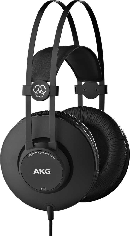 Akg K52 Vs Audio Technica Ath M20x Headphones Comparison Black
