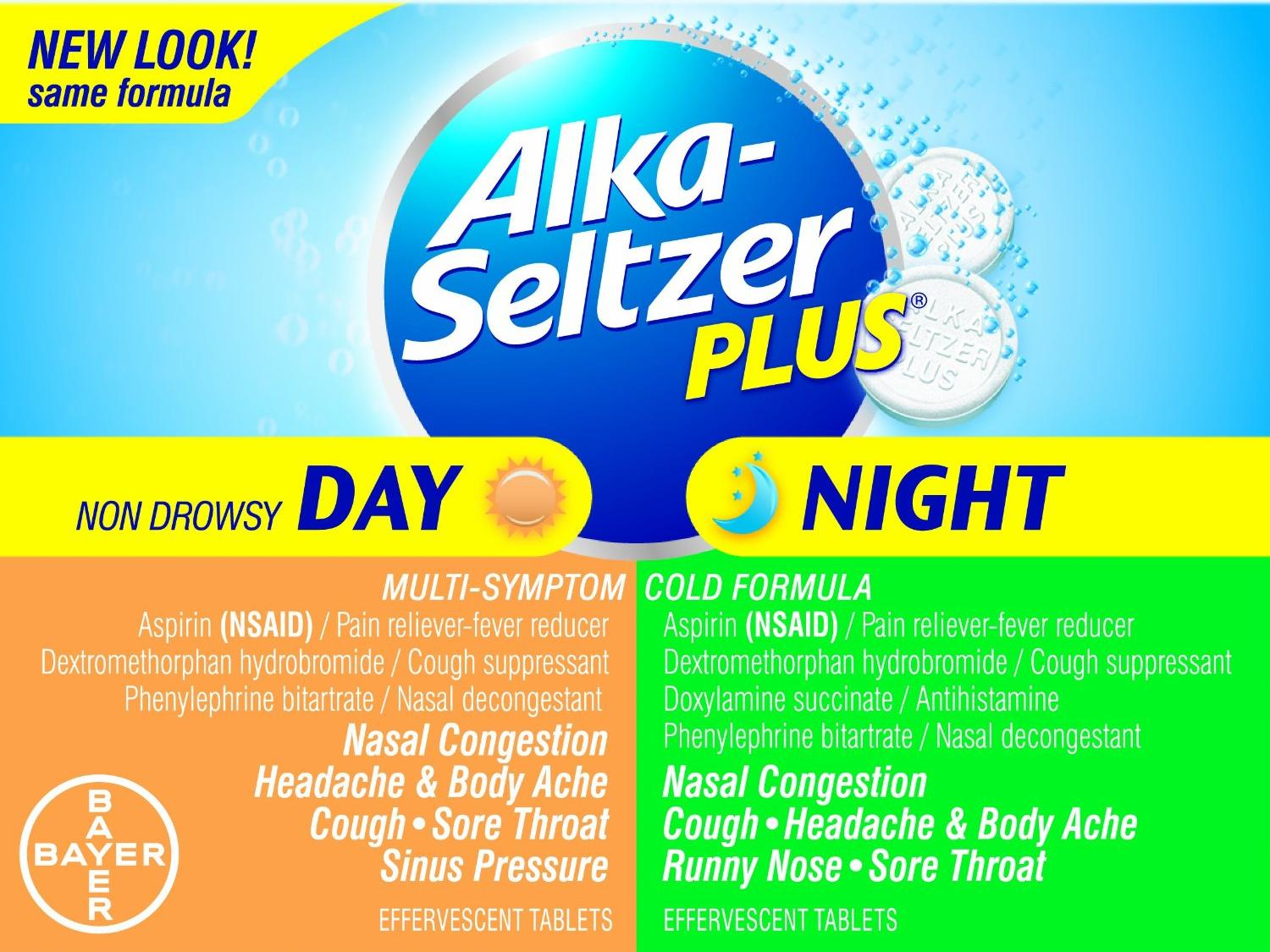 Alka Seltzer Plus Day & Night Cold