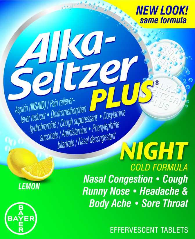 Alka-Seltzer Plus Night Cold