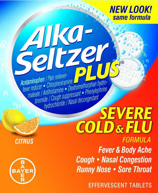 Alka-Seltzer Plus Severe Cold & Flu